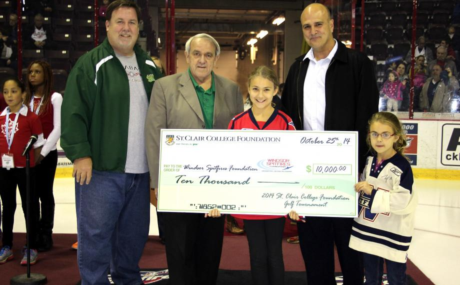 ST CLAIR COLLEGE FOUNDATION DONATES $10,000