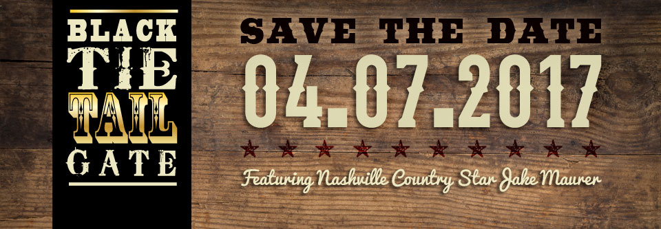 Save the Date! Black Tie Tailgate April 7, 2017