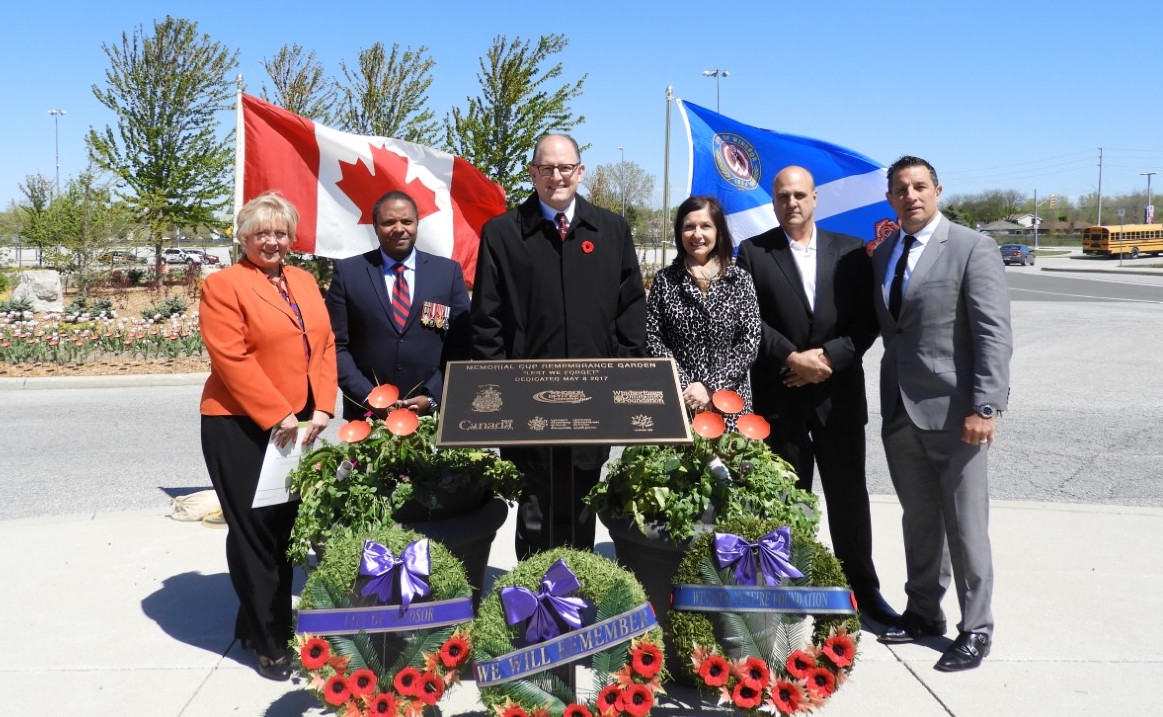 REMEMBRANCE GARDEN DEDICATION CEREMONY HELD
